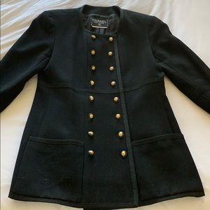 Authentic CHANEL Vintage Black Jacket 1993